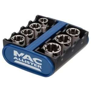 Mac Allister Grip-Drive socket set £12 @ B&Q
