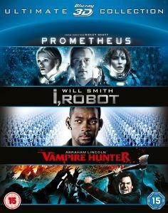 Prometheus/I Robot/Abe Lincoln Vampire Hunter 3D boxset, £13.99 (£13.29 with code) @ Zavvi