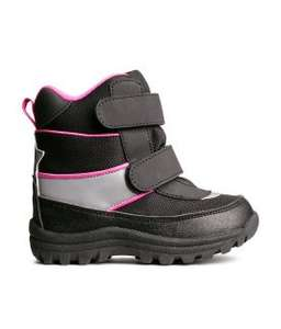 Girls Snow Boots £6.30 with Code @ H&M