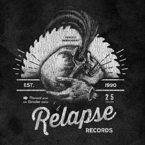 25 Years of Relapse Records Compilation - MASSIVE sampler (184 tracks!)