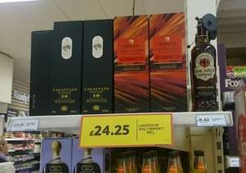 Lagavulin 16 Year Old Single Malt Whisky 70cl £24.25 @ Tesco instore