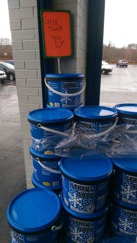 Rock Salt tub 10kg for 99p @ Lidl