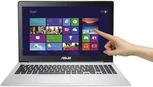 Asus Vivobook Core i7 4500U  touch screen laptop with dedicated Nvidia GT840 graphics card - £549.97 delivered from saveonlaptops