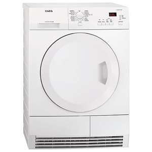 AEG T61275AC ProTex Condenser Tumble Dryer, 7 kg Load. £300 if trade in old appliance £349 @ John Lewis