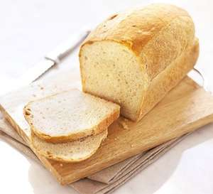 Lidl Thick Sliced White  and  Medium Sliced Wholemeal Bread 800g 40p @ LIDL