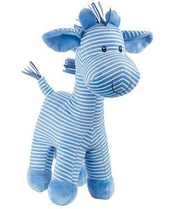 mothercare large blue stripy giraffe £3.59 was 11.99