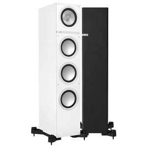 KEF Q500 White or Rosewood Floorstanding Speakers £399 @ Superfi