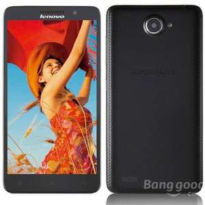 "Lenovo A816 Android4.4.2 Quad-core 4G LTE Phone w/ 5.5"" IPS, 8GB ROM, GPS, WiFi, BT - Black £84.03 @ DX"