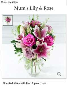 MOTHER'S DAY FLOWERS for £19.99 instead of £29.99 delivered. use code mother20 @ Debenhams