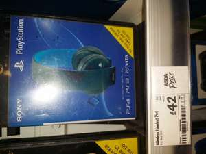 PS4 wireless headset £42.00 @ Asda instore