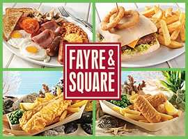 2 Main Courses and 2 Kids Meals for £10 @ Fayre & Square Pubs
