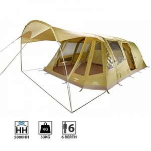 Vango AirBeam Lumen V 600XL 6 Man Tent - £549.99 delivered from Charlies Direct