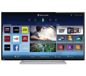 Toshiba 47L6453 47 Inch Smart WiFi Built In Full HD 1080p LED TV with Freeview HD - £349.00 - Tesco Direct (+12 Free Cineworld Tickets)