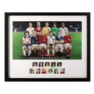 Football Heroes Framed Stamps and Fine Art Print Set - Royal Mail Collectables - £60 (Was £75) @ PostOfficeShop