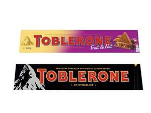A Lidl price for a big toblerone £2.99