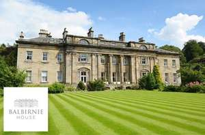 B&B at stunning balbirnie hotel in Fife only £89 @ itison