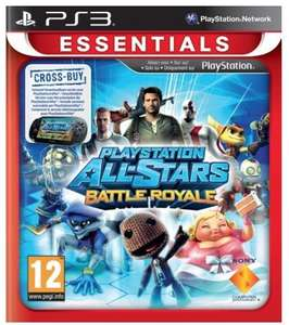 (PS3/Vita Cross Buy) Playstation All-Stars Battle Royale - £3.70 - Tesco Direct