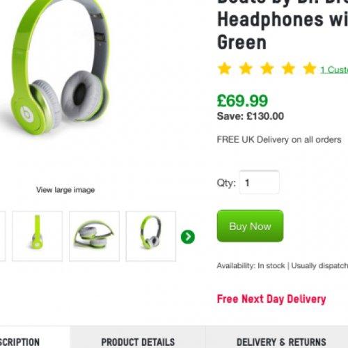 Beats Solo HD headphones £69.99 @ Zavvi