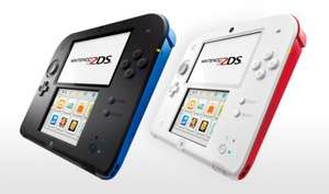 New 2DS console Black/Blue - £49.99 @ Tesco Direct