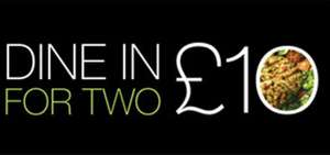 Marks & Spencer:  DINE IN for 2 £10.00 -  Main, Side, Dessert, and Bottle of Wine.