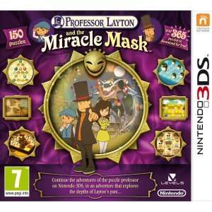 Professor Layton And The Miracle Mask Nintendo 3DS / 3DS XL £5.49 @ Zavvi