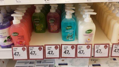 Radox Handwash 47p @ Wilko