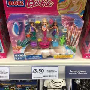 Mega bloks barbie triple pack £3.50 @ Tesco (in store)