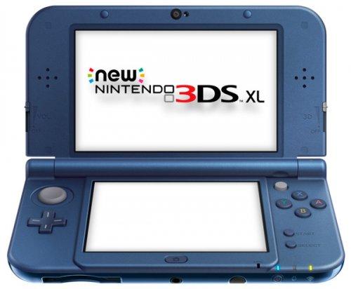 New Nintendo 3DS XL Handheld Console Metallic Blue @ 365Games £159.99