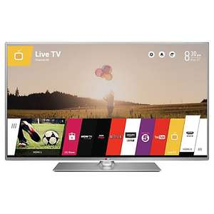 "LG 55LB650V LED HD 1080p 3D Smart TV, 55"" with Freeview HD 5 YEAR WARRANTY priced matched at £599.00 @ John Lewis"