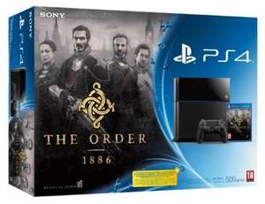 Playstation 4 Console + The Order 1886 £289.99 @ Smyths Instore