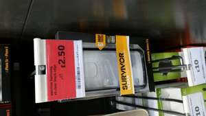Griffin Survivor clear case with black trim £2.50 @ Sainsbury Instore