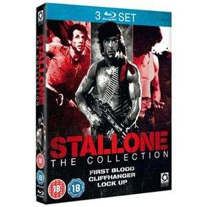 Stallone Triple Pack Box Set: Rambo: First Blood / Cliffhanger / Lock Up (3 Discs) (Blu-ray) £5.95 play.com / zoverstocks