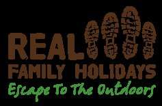 School holiday family nature breaks. £20 @ Real Family Holidays