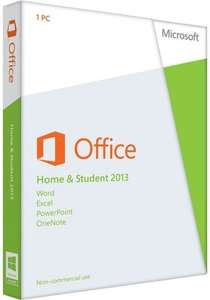 Microsoft office home and student 2013 £55 Instore @ Sainsburys