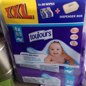 Toujours Wet wipes @ LIDL £1.99