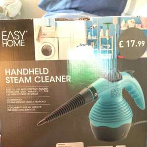 Easy Home Handheld Steam Cleaner £7.49 at Aldi