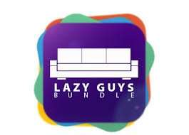 'LATE FEBRUARY' BUNDLE £1.94 Lazy Guys