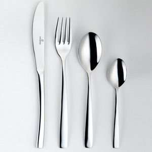 Viners stainless steel 'ribbon' 30 piece cutlery set £27.00 @ Debenhams