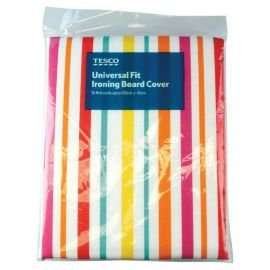 Tesco Universal Striped Ironing Board Cover  was £5 now £1@ Tesco Direct.