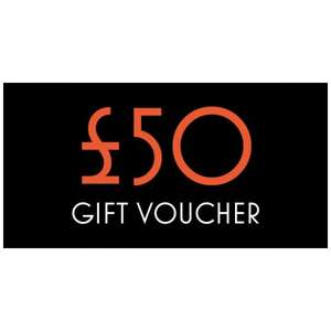 Toffs £50 Gift Voucher - £37.50 After Code,After Cashback It's £35