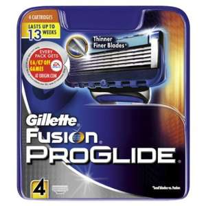 IN STOCK! Gillette Fusion Proglide Manual Razor Blades - Pack of 8 @ Amazon 10.97