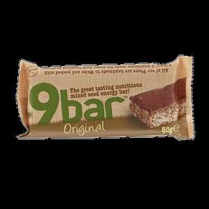9bar gluten free bars all varietys 24p per 50g bar+free delivery @ gnc online