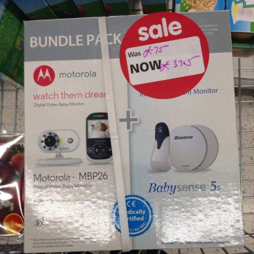 Motorola video baby monitor £37.50 @ Asda (in store)