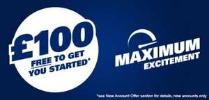 £100 free bet credit, withdraw any winnings after 7 days at sportingindex.com (spread betting read carefully for no risk)