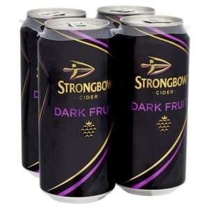 Strongbow Dark Fruit 440ml Cans 69p each **Instore** Home Bargains