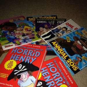 Horrid Henry book 3p annuals 37p Tesco (instore)