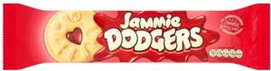 Jammie Dodgers 30p - 15p after Shopitize