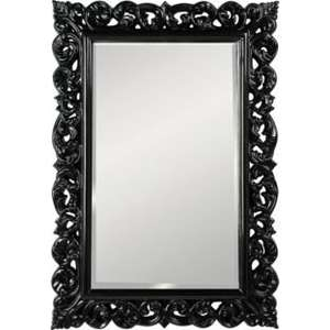 Heart of House Isabella High Gloss Wall Mirror - Black @ Argos £29.99