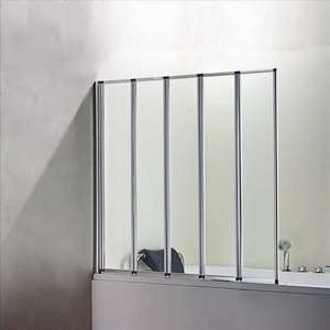4 & 5 Fold shower Curtains/Door From Only £53.99 Delivered @ onlineshowers/ebay