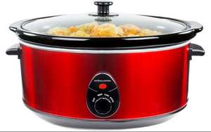 6.5 litre Slow Cooker £24.99 @ Andrew James - Black or Red